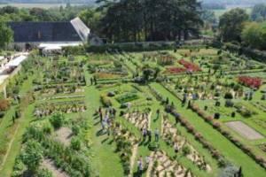Jardin potager de La Bourdaisière